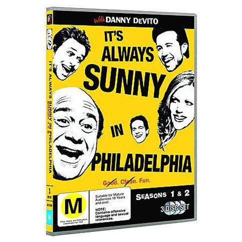 It S Always Sunny In Philadelphia Season 1 2 3DVD