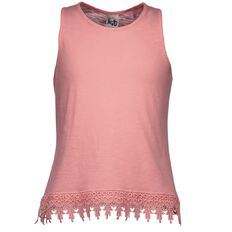 A'nD Lace Hem Tank Top