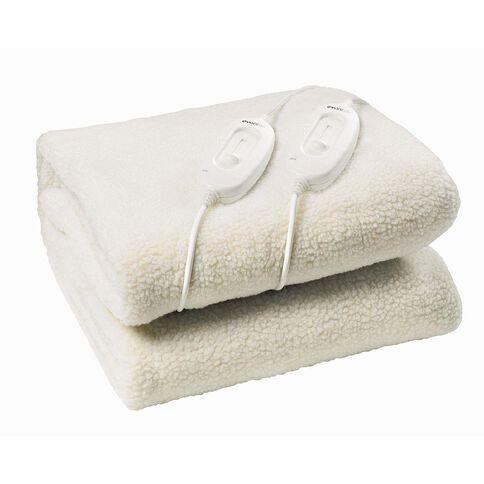 Evantair Electric Blanket Fleecy Queen