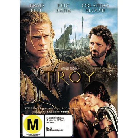 Troy DVD 1Disc