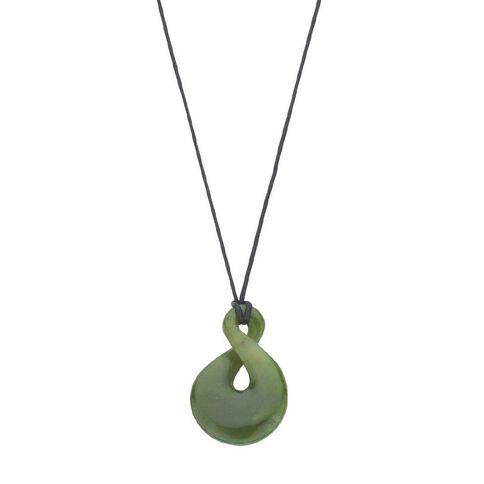 Jade Twist Pendant
