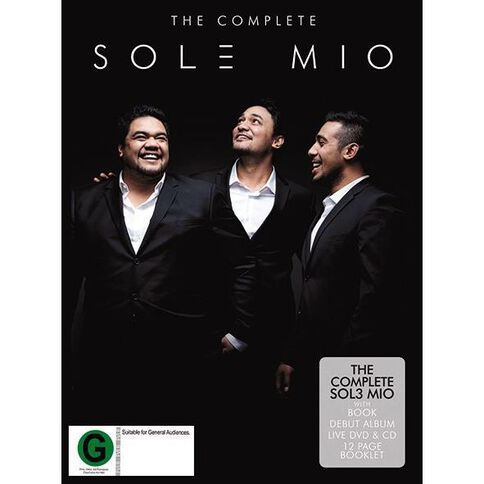 The Complete Sol3 Mio DVD/CD/Book by Sol3 Mio 3Disc