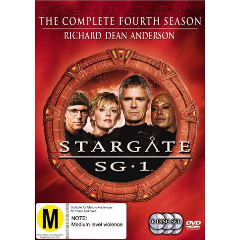 Stargate SG1 Season 4 DVD 6Disc