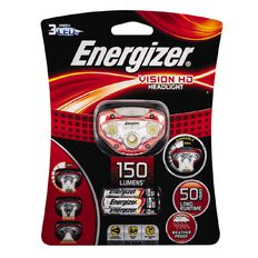 Energizer Vision HD Headlight Red