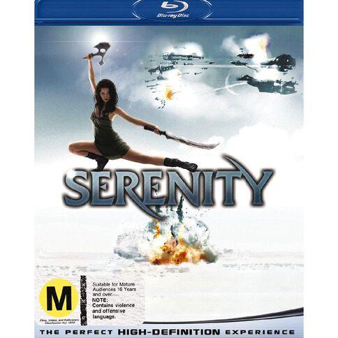 Serenity Blu-ray 1Disc