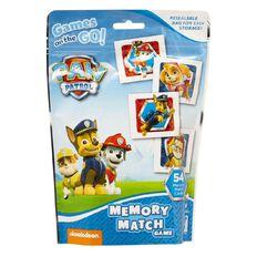 Paw Patrol Memory Match Cards