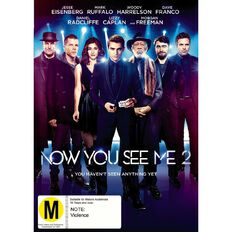 Now You See Me The Second Act DVD 1Disc