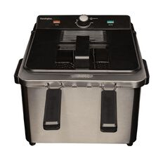 Kensington Deep Fryer Stainless Steel 4.5L