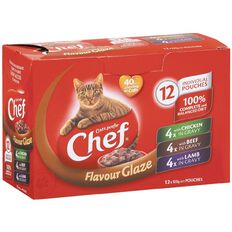 Chef Flavour Glaze Variety Pouches 12 Pack