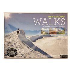 Calendar 2017 NZ Walks Wall 297mm x 210mm