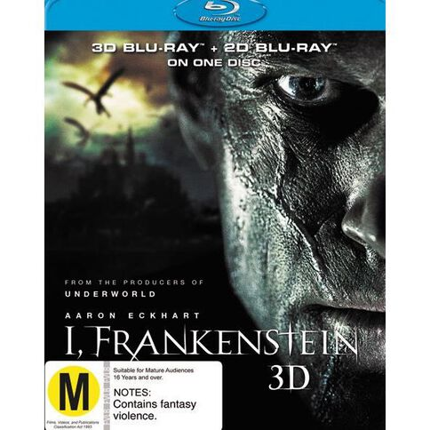 I Frankenstein 3D Blu-ray 2Disc