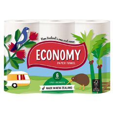 Economy Paper Towels 6 Pack