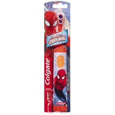 Colgate Spiderman or Barbie Battery Powered Toothbrushes Assorted