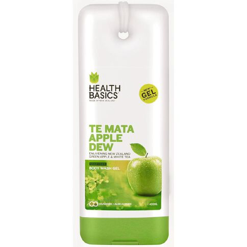 Health Basics Te Mata Apple Dew Body Wash Gel 400ml