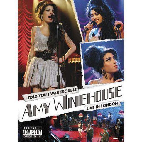 Amy Winehouse I Told You I Was Trouble DVD 1Disc