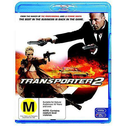 The Transporter 2 Blu-ray 1Disc