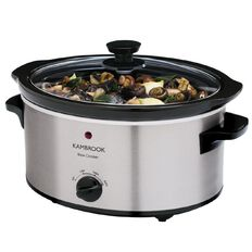 Kambrook Slow Cooker Stainless Steel 3L KSC360