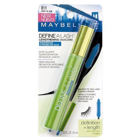 Maybelline Define-a-Lash Lengthening Mascara Waterproof Black