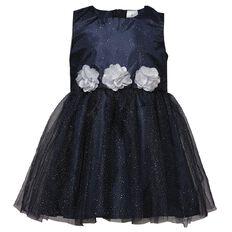 Hippo + Friends Toddler Girl Decoration Dress