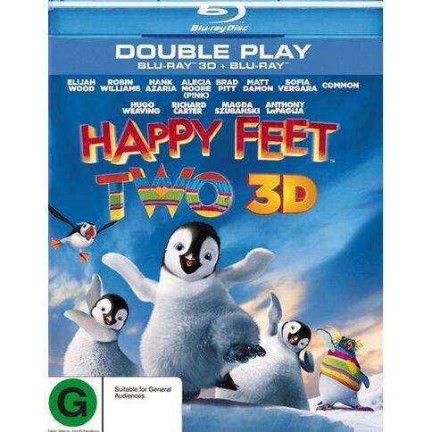 Happy Feet 2 Blu-ray + 3D Blu-ray 2Disc