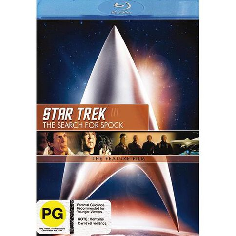 Star Trek 3 Search For Blu-ray 1Disc
