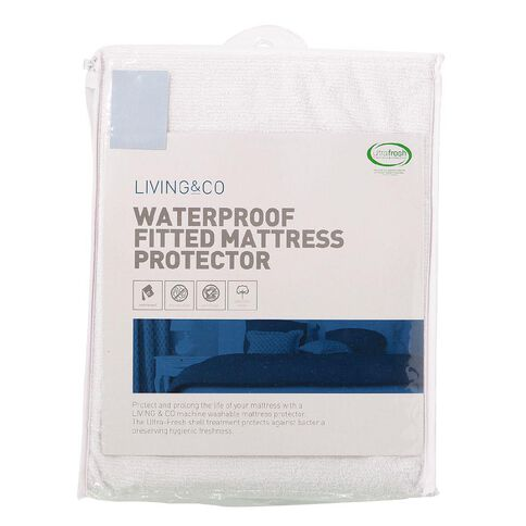 Living & Co Mattress Protector Terry