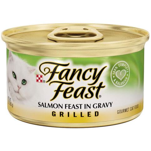 Fancy Feast Grilled Salmon Feast 85g