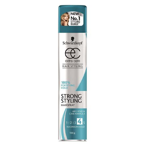 Schwarzkopf Extra Care Strong Hold Hairspray 100g