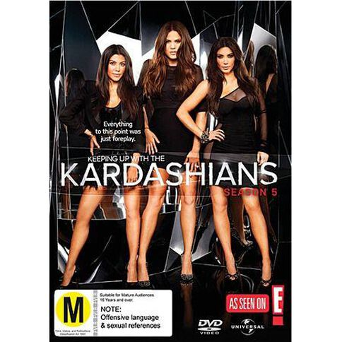 Keeping Up with The Kardashians Season 5 DVD 2Disc
