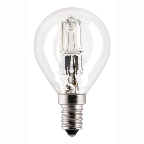 General Electric Bulb Halogen Fancy Round SES Clear 30W
