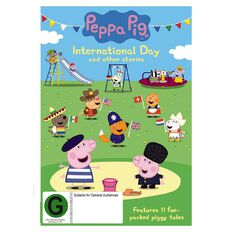 Peppa Pig International Day DVD 1Disc