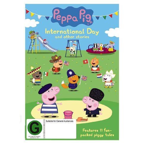 Peppa Pig International Day DVD 1Disc