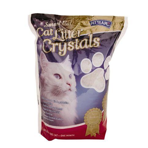 Pet Team Smart Cat Litter Crystals 3.8L