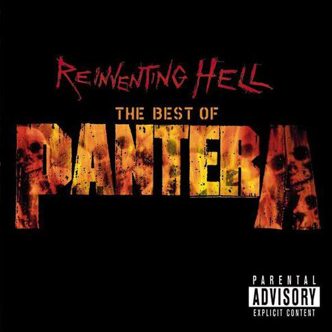 Reinventing Hell CD by Pantera 1Disc