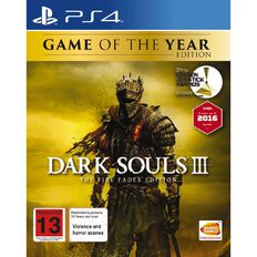 PS4 Dark Souls 3 Game of the Year