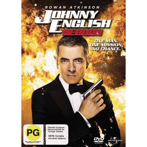 Johnny English Reborn DVD 1Disc