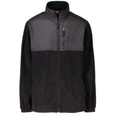 Rivet Panel Zip-Thru Sweatshirt