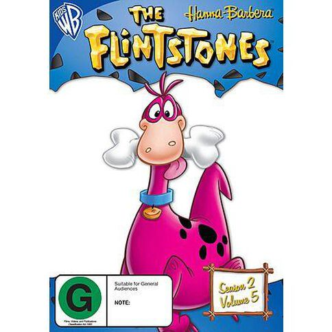 Flintstones Season 2 Volume 5 DVD 1Disc