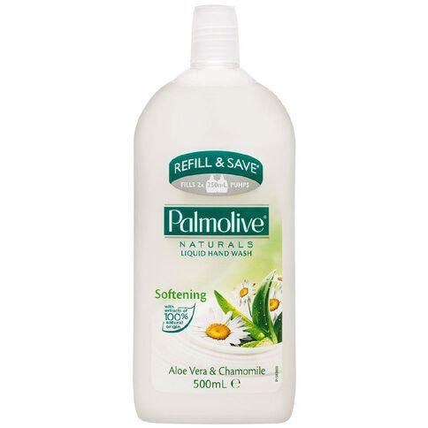 Palmolive Soft Wash Hand Wash Aloe Vera Refill 500ml