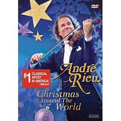 Andre Rieu Christmas Around the World Tour DVD/CD by Andre Rieu 2Disc