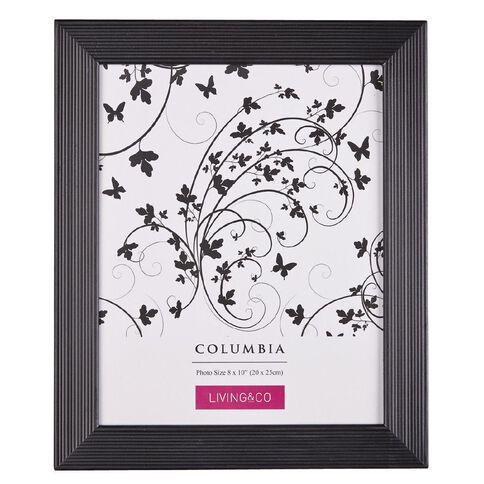 Living & Co Frame Columbia Black 8in x 10in