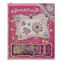Princess Kits Scrapbook Set Flower