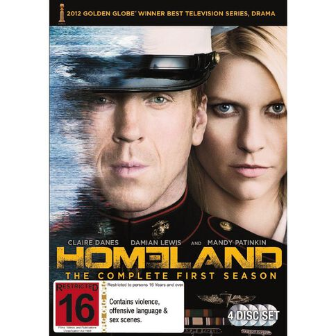 Homeland Season 1 DVD 4Disc