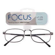 Focus Reading Glasses Aristocrat Power 1.25