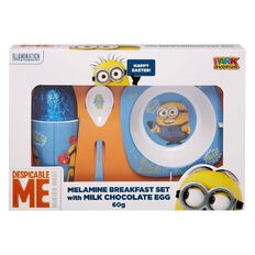 Minions Breakfast Set with Easter Egg 60g