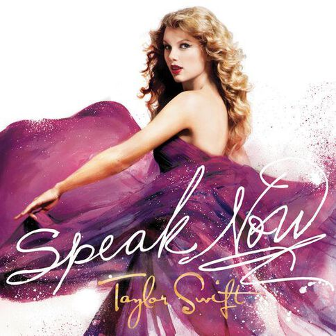 Speak Now CD by Taylor Swift 1Disc