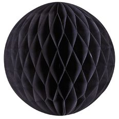 Party Inc Honeycomb Lantern Black