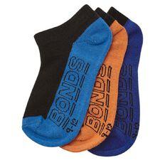 Bonds Boys' Log Low Cut Socks 3 Pack