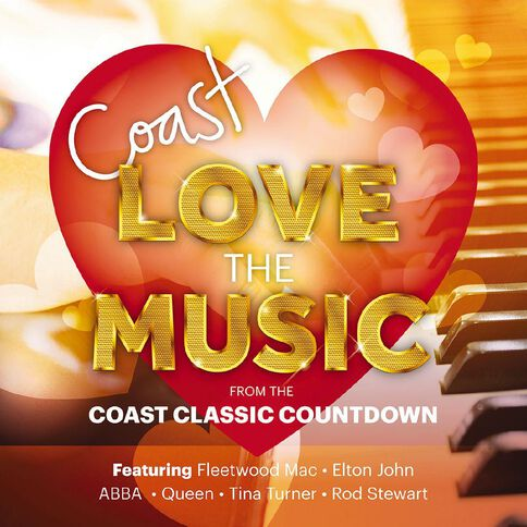 Coast The Coast Classic Countdown CD by Various Artists 2Disc