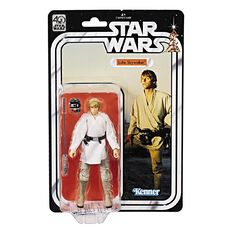 Star Wars Luke Skywalker Black Series 40th Anniversary Figure 6 inch